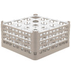 16 Compartment Vollrath Glass Racks and Extenders