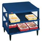 Hatco GRPWS-3618D Navy Blue Glo-Ray 36 inch Double Shelf Pizza Warmer - 1440W