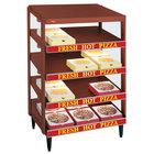 Hatco GRPWS-3624Q Antique Copper Glo-Ray 36 inch Quadruple Shelf Pizza Warmer - 3600W