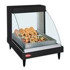 Hatco GRCD-1P Black 20 inch Glo-Ray Full Service Single Shelf Merchandiser - 120V, 410W
