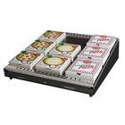 Hatco GRPWS-4824 Black Glo-Ray 48 inch Single Shelf Pizza Warmer - 955W