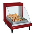 Hatco GRCD-1P Red 20 inch Glo-Ray Full Service Single Shelf Merchandiser - 120V, 410W