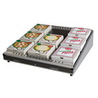 Hatco GRPWS-4824 Granite White Glo-Ray 48 inch Single Shelf Pizza Warmer - 955W