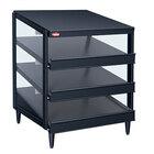 Hatco GRPWS-4818T Black Glo-Ray 48 inch Triple Shelf Pizza Warmer - 2880W