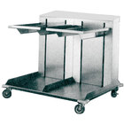 APW Wyott Lowerator CTRD-1620 Double Mobile Open Cantilever Tray Dispenser for 16 inch x 20 inch Trays