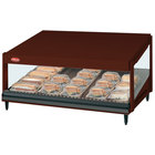 Hatco GRSDS-60 Antique Copper Glo-Ray 60 inch Slanted Single Shelf Merchandiser - 120V