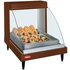 Hatco GRCDH-1P Copper 20 inch Glo-Ray Full Service Single Shelf Merchandiser with Humidity Controls - 660W
