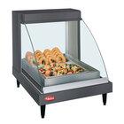 Hatco GRCDH-1P Gray 20 inch Glo-Ray Full Service Single Shelf Merchandiser with Humidity Controls - 660W