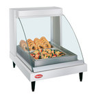 Hatco GRCDH-1P White 20 inch Glo-Ray Full Service Single Shelf Merchandiser with Humidity Controls - 660W