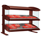 Hatco HXMS-42 Antique Copper Xenon 42 inch Slanted Single Shelf Merchandiser - 120V
