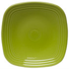 Homer Laughlin 920332 Fiesta Lemongrass 9 1/4 inch Square Luncheon Plate - 12/Case