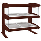 Hatco HZMH-24D Antique Copper 24 inch Horizontal Double Shelf Heated Zone Merchandiser - 120V