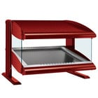 Hatco HZMS-54 Warm Red 54 inch Slanted Single Shelf Heated Zone Merchandiser - 120V