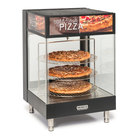 Nemco 6421 Heated Countertop Pizza Merchandiser with Three 18 inch Racks - 120V