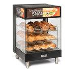Nemco 6425 Hot Food Merchandiser with 3 Angled 19 inch Shelves - 120V