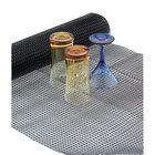 San Jamar PL0105 Poly-Liner 2' x 10' Black Shelf Liner