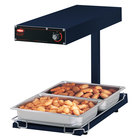 Hatco GRFFBL Glo-Ray Navy 12 3/4 inch x 24 inch Portable Food Warmer with Infinite Controls, Heated Base and Overhead Light - 120V, 870W