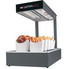 Hatco UGFFL Ultra-Glo Gray Portable Food Warmer with Lights - 120V, 870W