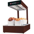 Hatco UGFFL Ultra-Glo Copper Portable Food Warmer with Lights - 120V, 870W
