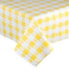 Yellow Checkered