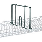 Metro HD18-DSG Smoked Glass Drop Mat Snap-On Divider - 18 inch Wide