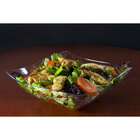 Fineline Wavetrends 164-CL Clear Plastic Serving Bowl 64 oz. - 50/Case