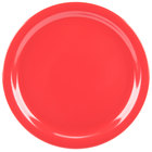 Carlisle KL20005 Kingline 8 7/8 inch Red Plate   - 48/Case
