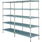 Metro 5AQ537G3 MetroMax Q Shelving Add On Unit - 24 inch x 36 inch x 74 inch