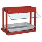 Hatco GRHW-1P Glo-Ray Warm Red Mini-Merchandising Warmer with Toggle Controls - 820W
