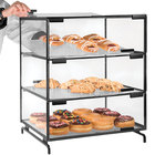Cal-Mil PC300-13 Three Tier Black Pastry Display Case - 16