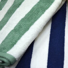 Hotel Pool Towel - Green Stripe 30