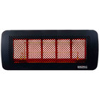 Bromic Heating BH0210004 Tungsten Smart-Heat 500 Series Propane Outdoor Patio Heater - 43,000 BTU