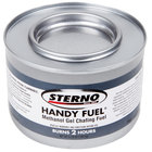 Sterno Products 20102 Handy Fuel Methanol Gel Chafing Fuel - 72/Case