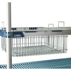 Metro MB1816XE 18 inch X 16 inch Wire Basket with Epoxy Coating for MetroMax iQ Shelving
