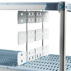 Metro MD24-16 24 inch Shelf-to-Shelf Divider for Open Grid and Wire Shelves - 16 inch High