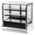 Vollrath 40865 36 inch Cubed Glass Heated Countertop Display Cabinet