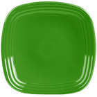 Homer Laughlin 920324 Fiesta Shamrock 9 1/4 inch Square Luncheon Plate - 12/Case