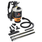 Hoover C2401-010 6.4 Qt. Commercial Backpack Vacuum Cleaner
