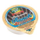 Salad Bar Buttermilk Ranch Dressing - (100) 1.5 oz. Portion Cups / Case   - 100/Case