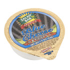 Salad Bar Blue Cheese Dressing - (100) 1.5 oz. Portion Cups / Case   - 100/Case