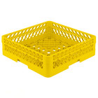Vollrath TR1A Traex Full-Size Yellow 5 1/2 inch Open Rack with 1 Extender
