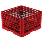 Vollrath PM2110-5 Traex Red 21 Compartment Plate Rack - 9 3/16