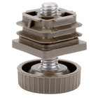 Grosfillex USSP0076 Adjustable Replacement Feet for Pedestal and Lateral Resin Table Bases