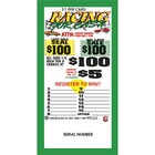 Racing 4 Cash 1 Window Pull Tab Tickets - 300 Tickets Per Deal - Total Payout: $250