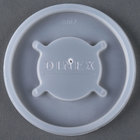 Dinex DX20029000 Translucent Disposable Lid for Dinex 43633 Lafayette 7.6 oz. PC Tumbler, Cambro NT8 Newport 7.7 oz. Tumbler, Dinex 43663 8 oz. Swirl PC Tumbler, and Cambro HT8CW Camwear Huntington 8 oz. Squat Tumbler - 1500 / Case