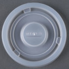 Dinex DX11808714 Classic Translucent Disposable Lid for 8 - 12 oz. Cambro, Carlisle, and GET Tumblers - 1000 / Case
