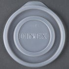 Dinex DXTT45 Translucent Disposable Lid for Royal Legacy 8 oz. Bowl, Cambro LT22 Laguna 22 oz. Tumbler, and Carlisle 5224 Stackable 24 oz. SAN Tumbler - 1000 / Case