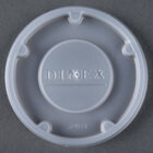 Dinex DX24019000 Translucent Disposable Lid for Carlisle 5505 Pebble Optic 5 oz. Tumbler, Cambro HT5CW Camwear Huntington 5 oz. Squat Tumbler, and GET 8805-1-CL Spektrum 5 oz. SAN Tumbler - 1500/Case