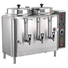 Cecilware FE100N 1 PHASE Twin 3 Gallon Automatic Coffee Urn - 120/208/240V