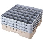 Cambro 36S418184 Beige Camrack 36 Compartment 4 1/2